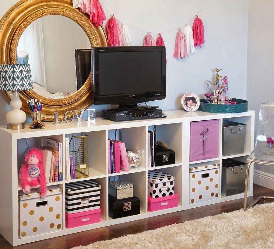 11 Space-Saving DIY Kids\' Room Storage Ideas that Help Declutter