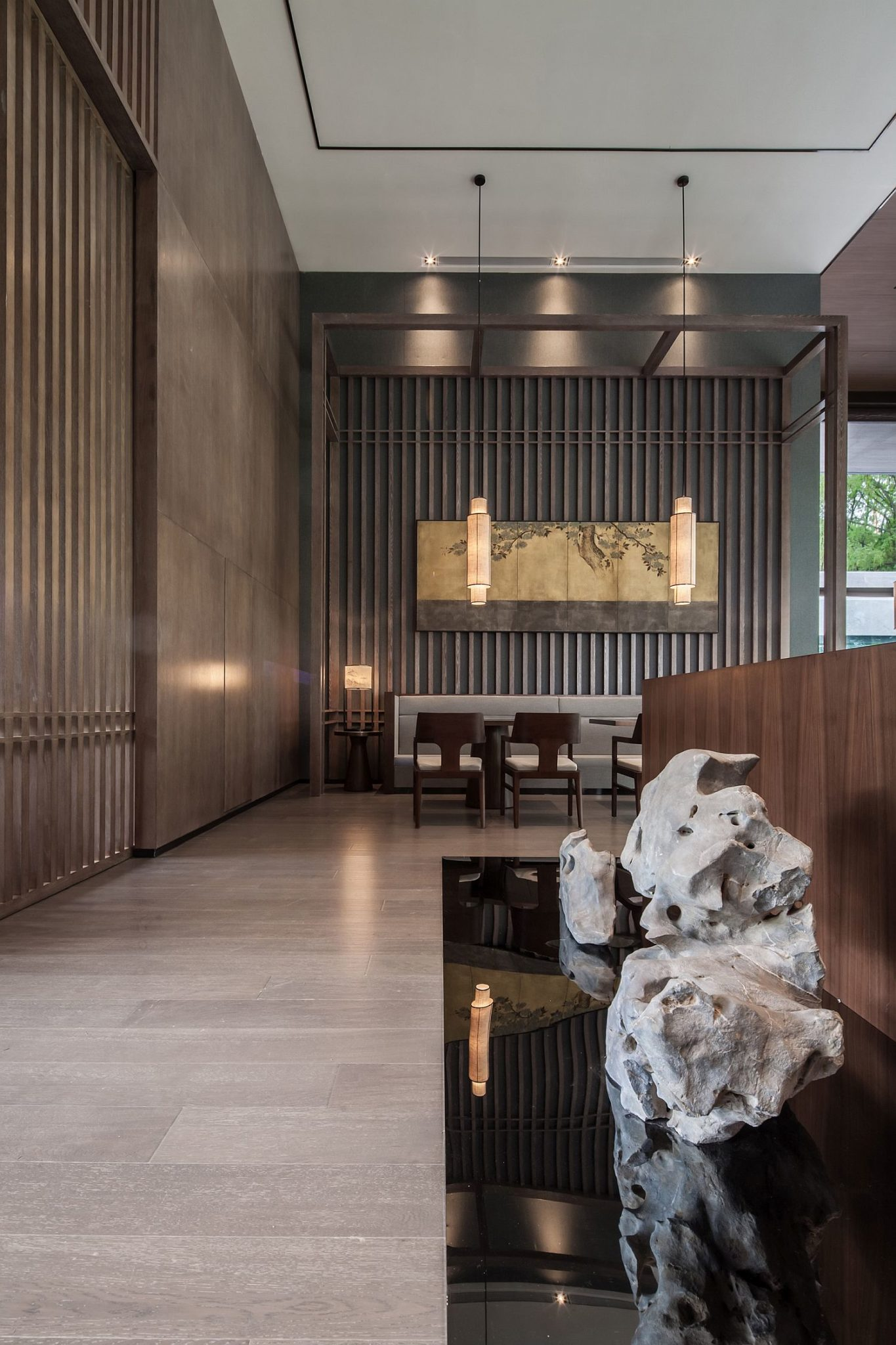 Smart-and-stylish-interior-of-the-contemporary-tea-house