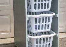 Space-savvy-DIY-laundry-basket-dresser-on-wheels-217x155