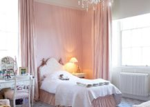Striped-accent-wall-in-pastel-pink-for-the-cool-bedroom-217x155