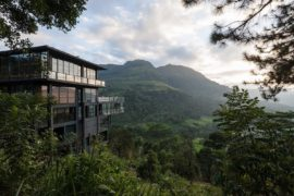 On the Edge of Paradise: Transcendent Hotel by the Water Falls!
