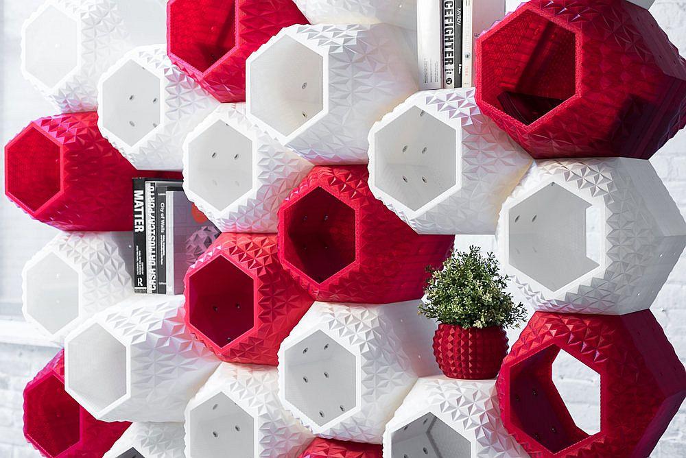 Supermod offers colorful geometric contrast