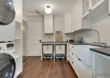 Transitional-laundry-room-with-baskets-on-wheels-217x155