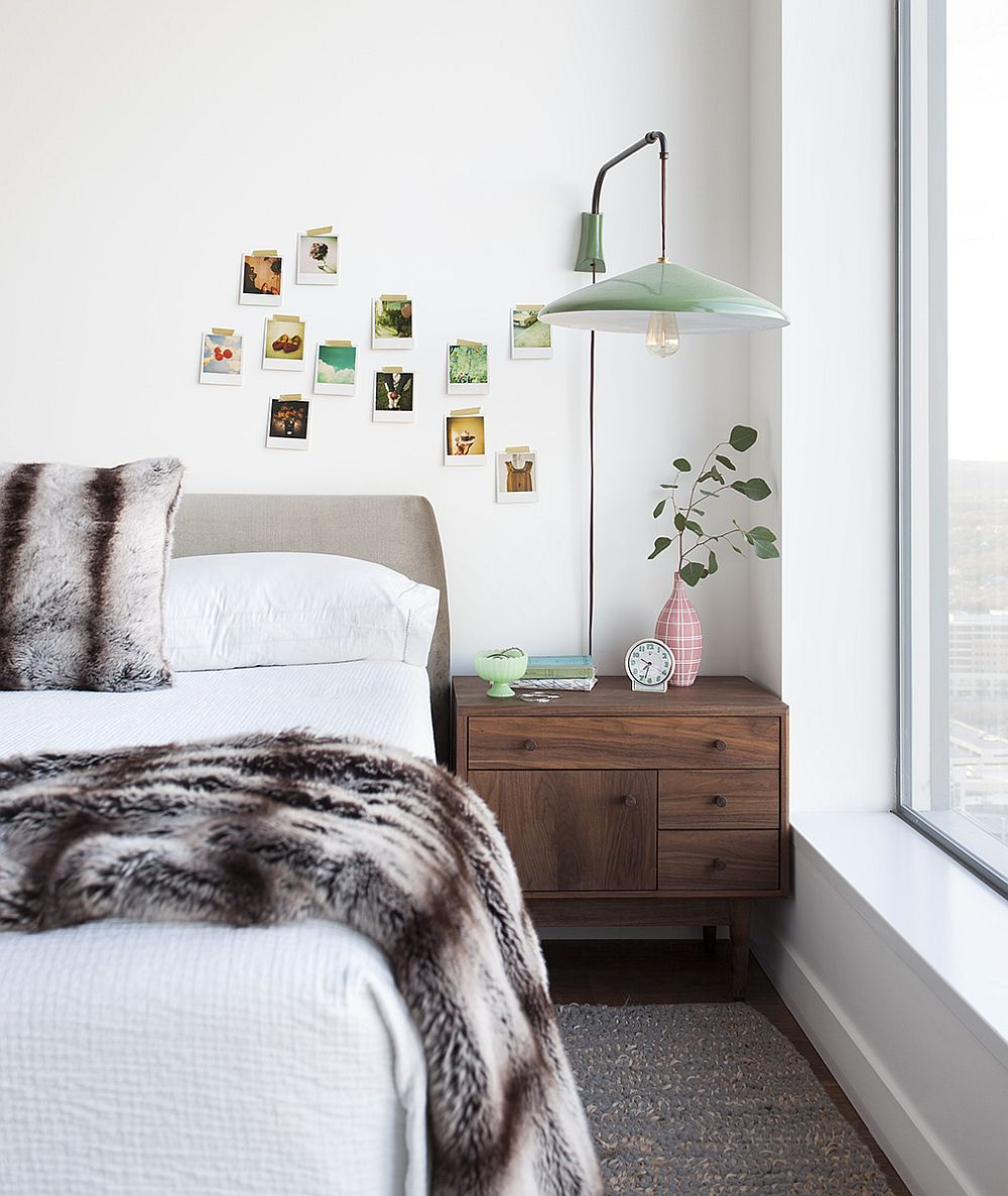 Well-lit girls' bedroom in white stays away from an overload of pink
