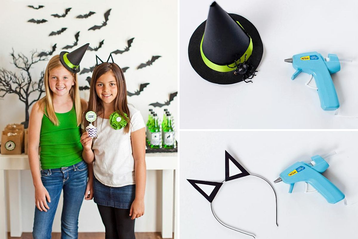 Witch's Hat Halloween DIY Idea
