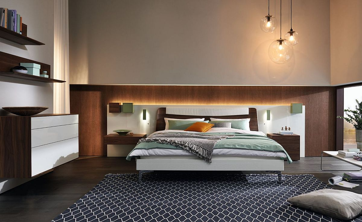 contemporary bedrooms.  Cozy Contemporary Bedrooms with Matching Wardrobes and D cor