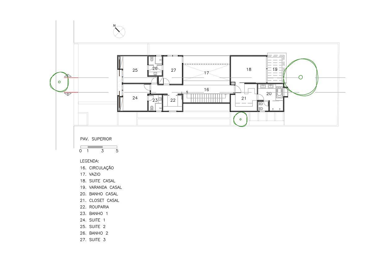 Bedroom-level-floor-plan-of-Vila-Nova-Residence