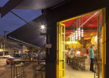 Brilliant-pops-of-yellow-and-red-bring-the-Pizza-Restaurant-alive-217x155