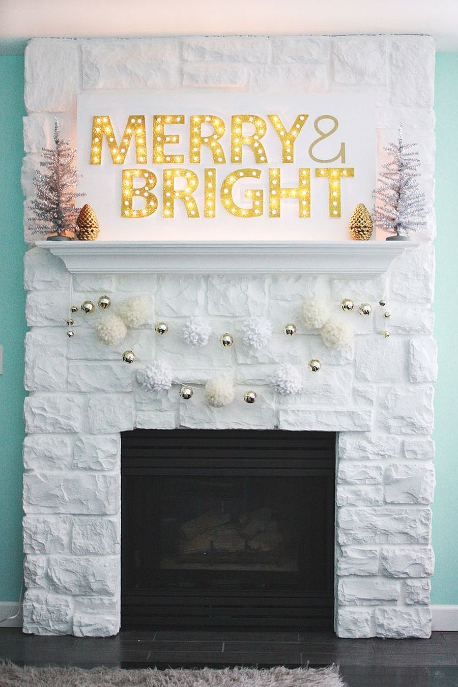 Christmas Marquee Light DIY