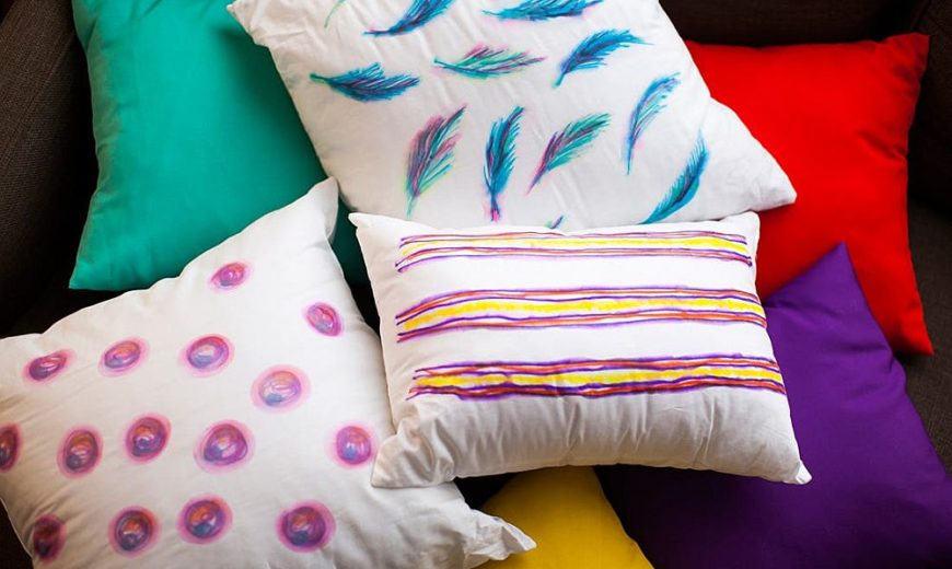 10 Gorgeous DIY Throw Pillows that are Easy to Craft