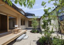 Contemporary-courtyard-and-small-wooden-deck-of-the-Japanese-home-217x155