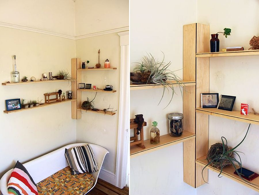 Create-your-own-corner-shelves-with-wood