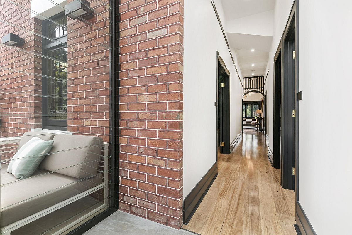 Curated-and-narrow-entry-of-the-revamped-home-in-Saint-Kilda