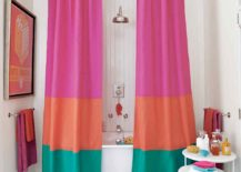Budget Bathroom Makeover: 10 Creative DIY Shower Curtains