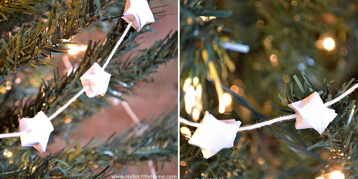 DIY-Origami-Star-Garland-to-Decorate-your-Christmas-Tree