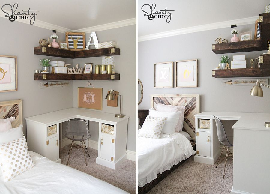 10 DIY Corner Shelf Ideas for Every Room of your Home