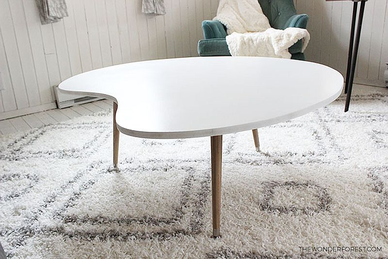 DIY-mid-century-coffee-table-for-less-than-50