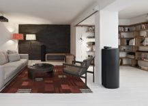 Dark-wood-accent-wall-for-the-living-room-in-white-217x155