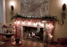 Decorate-the-festive-fireplace-mantle-with-string-lights-217x155