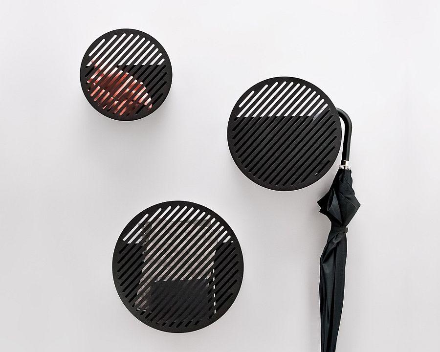 Diagonal wall baskets from Andréason & Leibel
