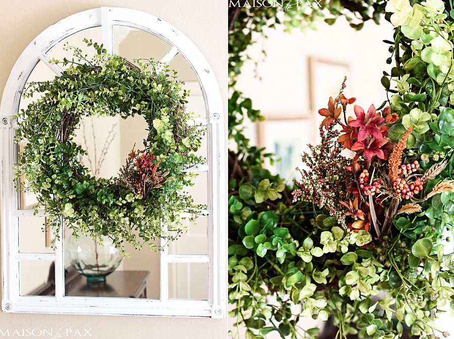 Easy and affordable Eucalyptus wreath
