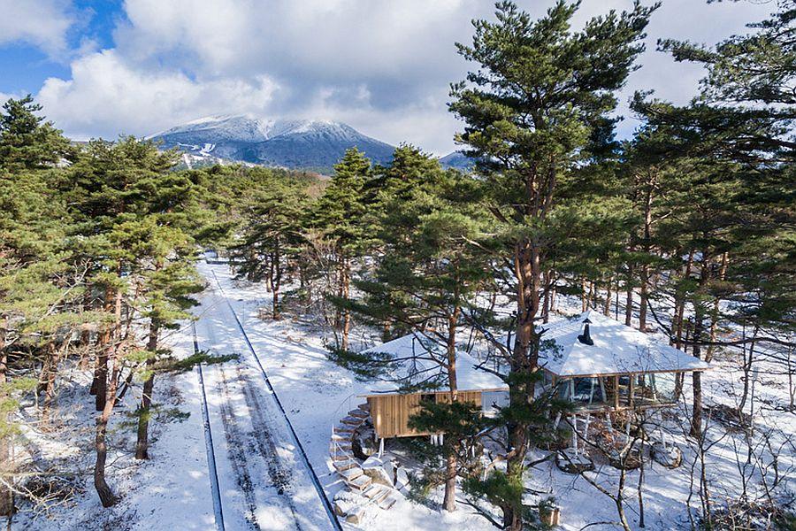 Eco-friendly vacation home in Fukushima, Japan