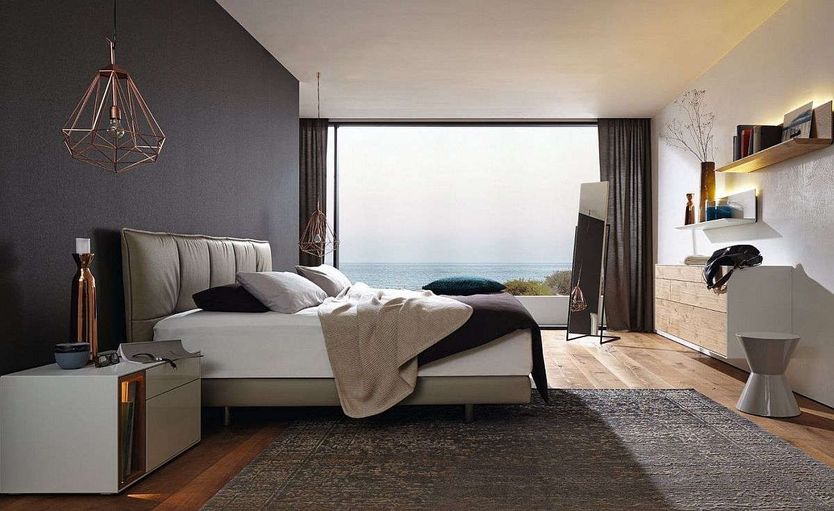 Cozy Contemporary Bedrooms With Matching Wardrobes And Decor - Minimalist-bedroom-interior-inspiration-from-huelsta