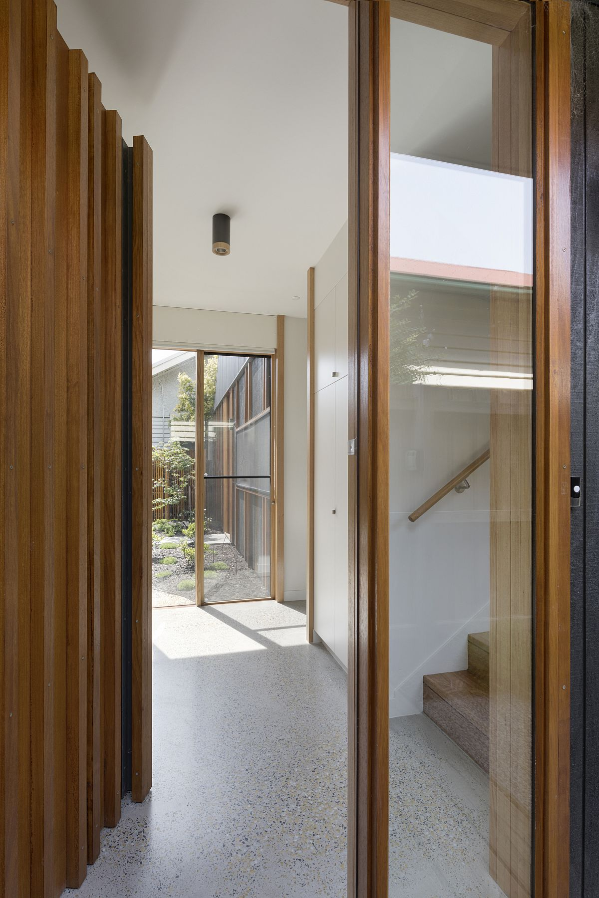 Entry to the modern Aussie home