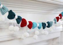 Exquisite-DIY-Pom-Poms-and-Bows-Crochet-Garland-217x155