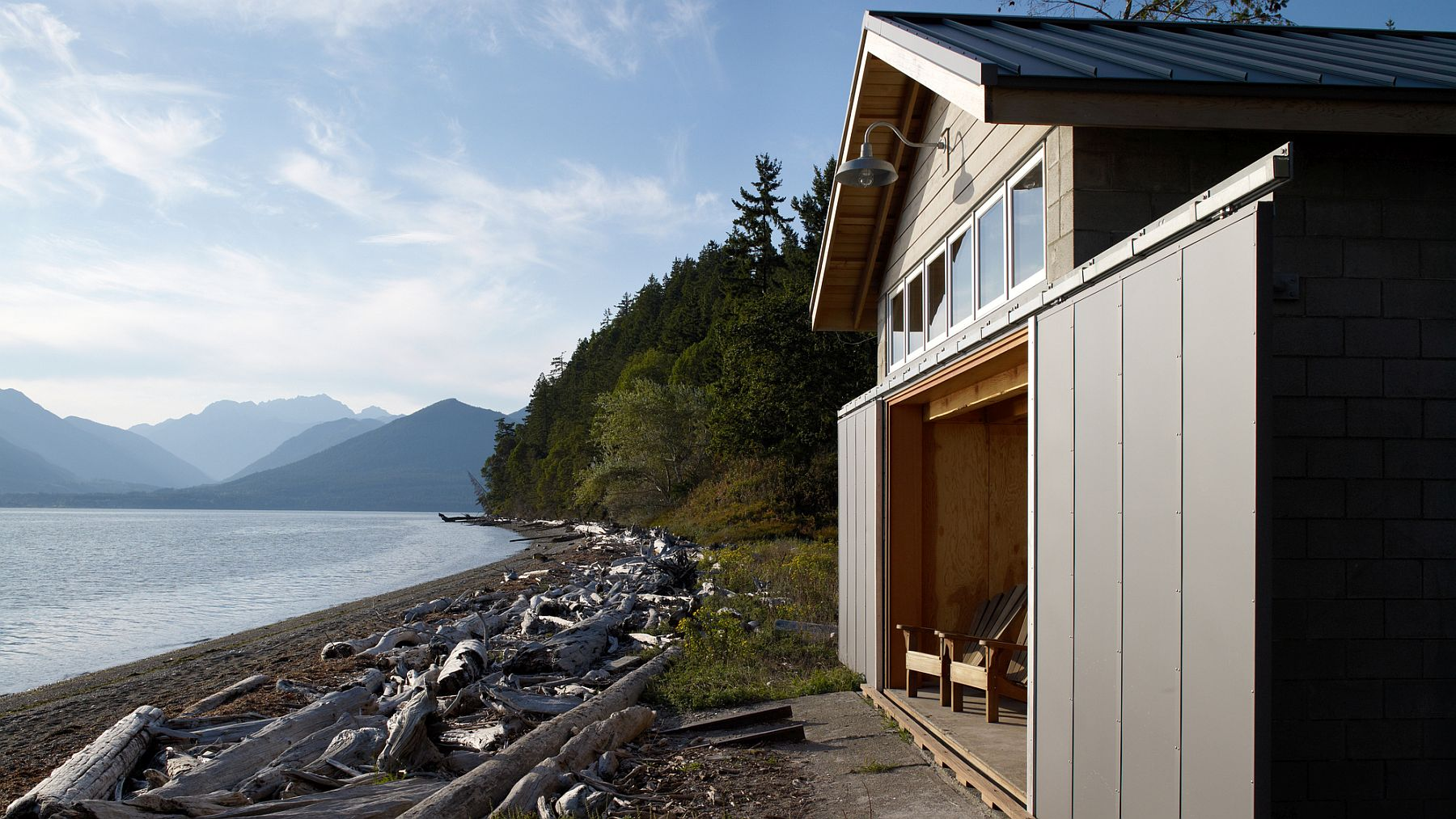Exquisite views and amazing landscape at the Hood Canal Boat House