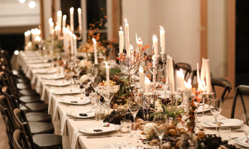 Feast Your Eyes on These Stunning Fall Tables