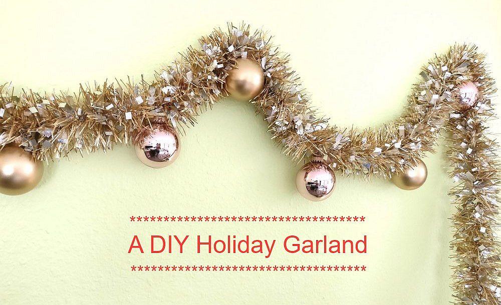 Festive-DIY-metallic-garland-brings-in-holiday-cheer