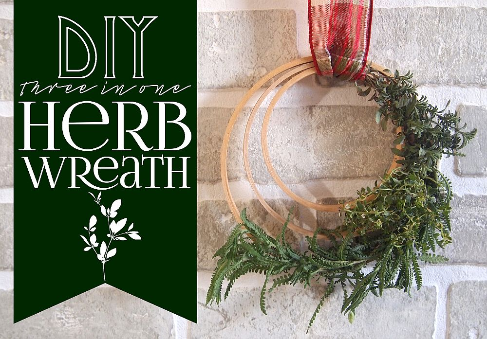 Fun-and-easy-three-in-one-DIY-herb-wreath