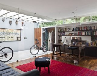 Renovated 1970's Townhouse in São Paulo with Inspired Indoor Garden