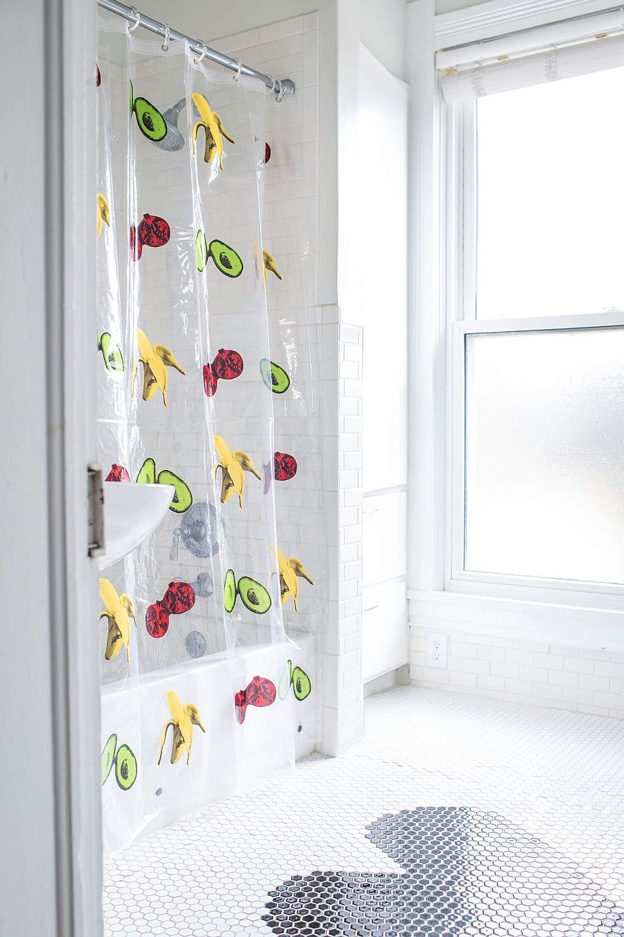 Budget Bathroom Makeover 10 Creative DIY Shower Curtains