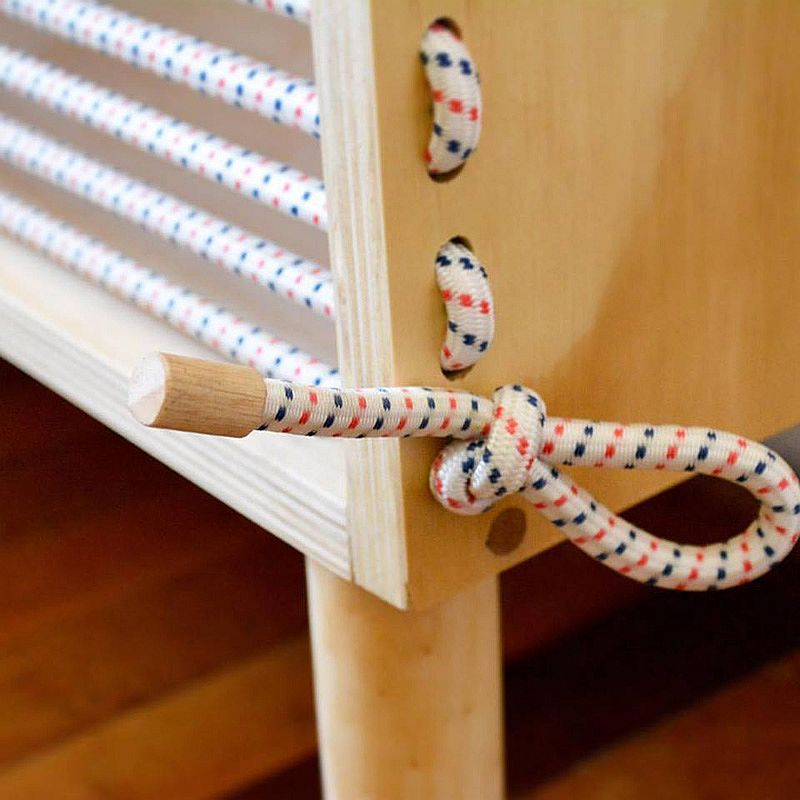 High-strength elastic cord for the super-stylish sideboard