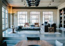 Innovative-chandelier-lighting-in-black-for-modern-industrial-dining-area-217x155