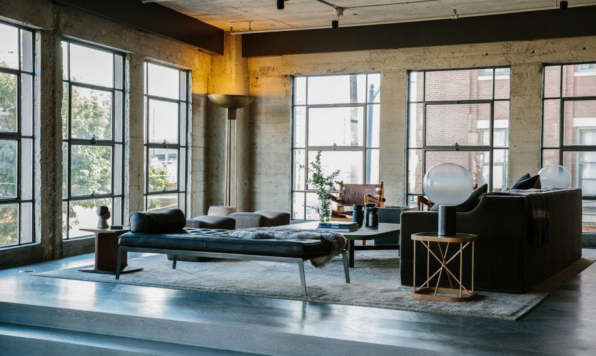 1920's Warehouse in Los Angeles Turned into a Splendid Modern Industrial Loft