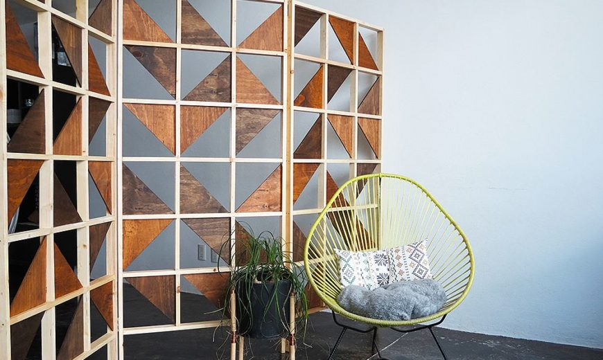 10 Clever DIY Room Dividers that Delineate with a Difference!