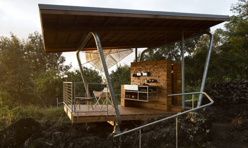 Hawaiian Home Situated Next To 300-Year-Old Lava Flow