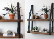 Recycled-leather-and-wood-hanging-shelf-217x155