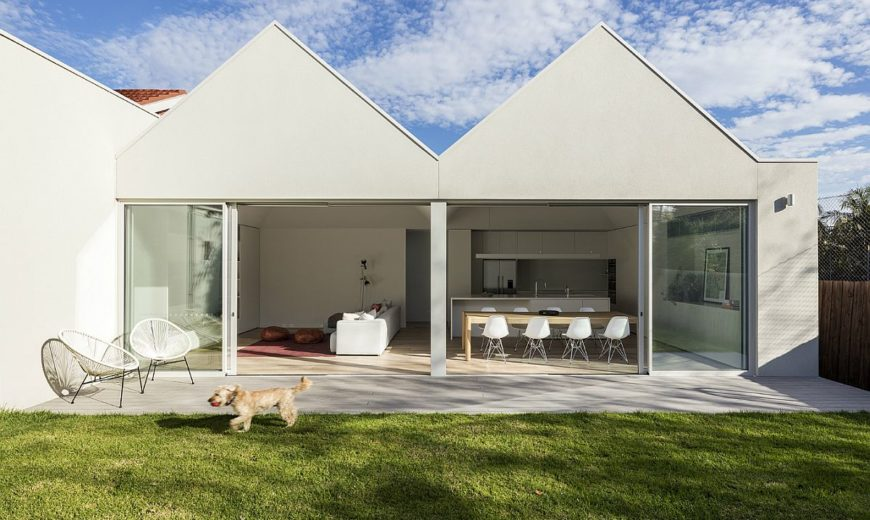 White and Wood: Renovated and Extended Californian Bungalow Down Under