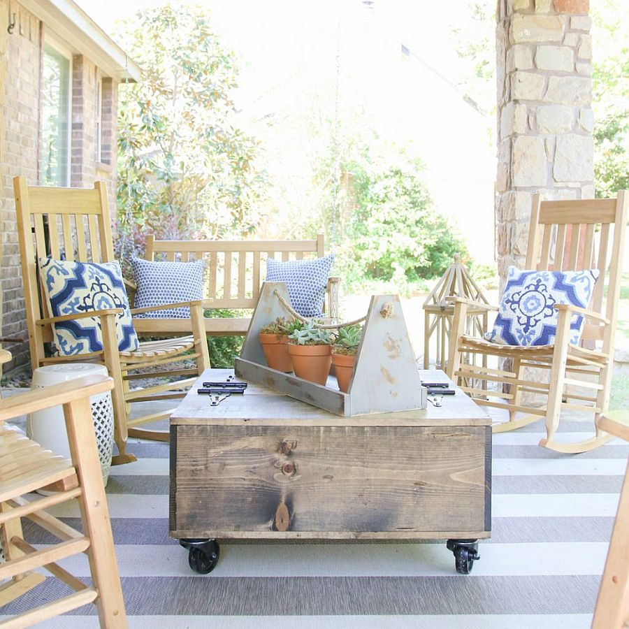 Rustic Storage Coffee Table Diy: 15 DIY Coffee Tables From The Rustic To The Minimal