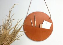 Stylish-and-sleek-leather-wall-pockets-217x155