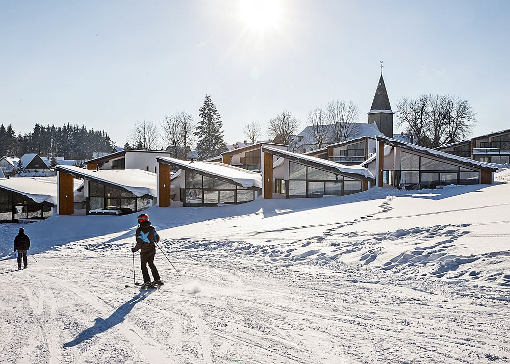 Wonderful ski slopes of Winterberg become the main attraction at these modern villas