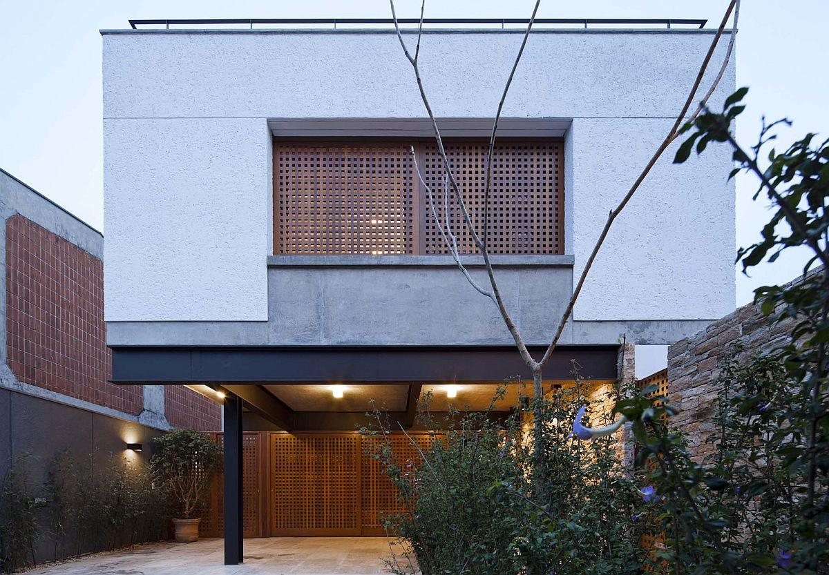 Wooden-sliding-doors-with-lattice-designfor-the-top-level