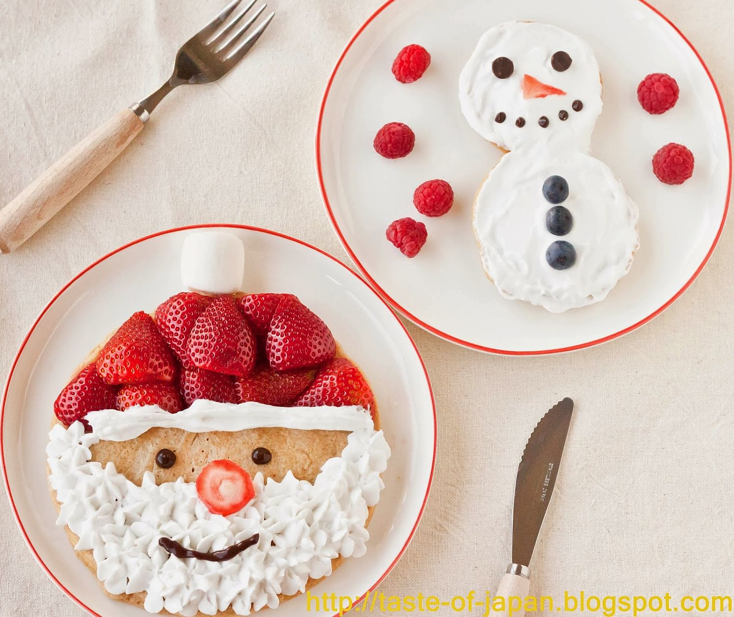 Bring Santa on to the dinner table with a delicious treat