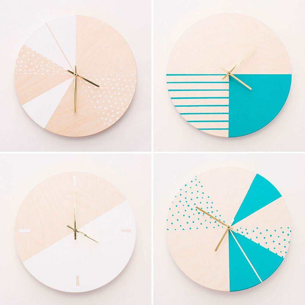Chic DIY Modern Wall Clock