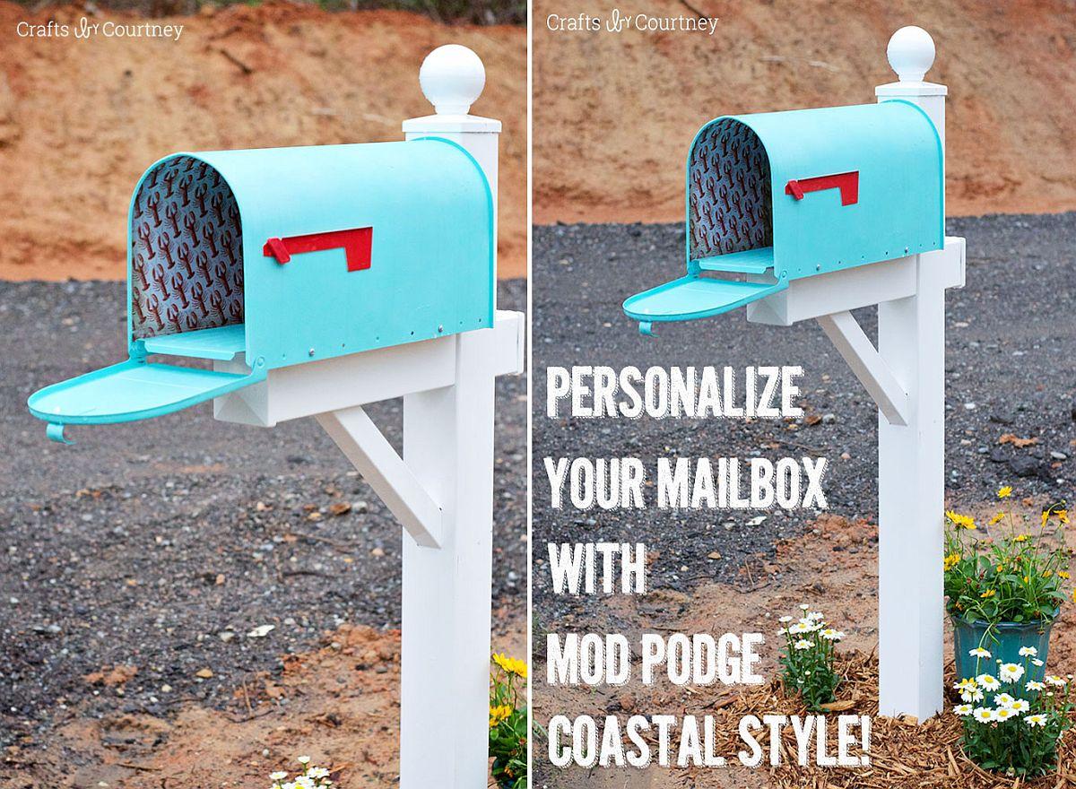 Coastal-style-DIY-mailbox-with-mod-podge