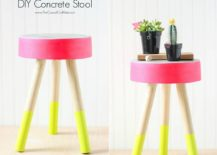 Colorful-and-easy-to-make-DIY-Concrete-Stool-217x155